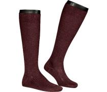 Socken Serie Luxury No.10, Kniestrümpfe, Baumwolle