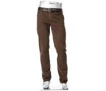 Blue-Jeans Pipe, Regular Slim Fit, Baumwoll-Stretch T400