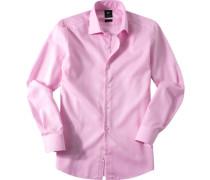 Hemd, Popeline, rosa