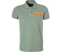 Polo-Shirt Polo, Baumwoll-Piqué, grau-