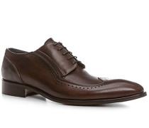 Schuhe Budapester, Leder, kaffeebraun
