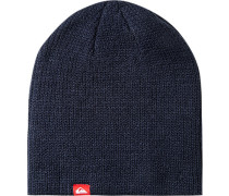 Mütze, Microfaser, dunkelblau