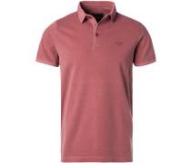 Polo-Shirts, Baumwoll-Piqué, altrosa