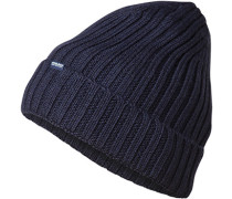 Mütze, Wolle, navy
