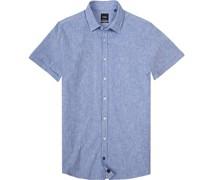 Kurzarmhemd, Modern Fit, Baumwolle