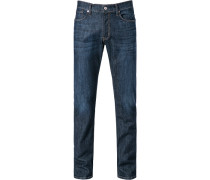 Jeans, Regular Fit, Baumwolle, indigo