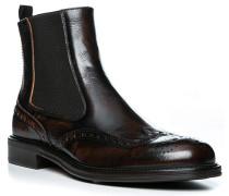 Schuhe Chelsea Boots, Leder, papaj