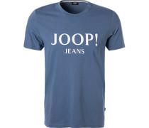 T-Shirt, Baumwolle, himmelblau