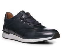 Schuhe Sneaker, Kalbleder, dunkelblau