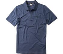 Polo-Hemd, Regular Fit, Baumwoll-Jersey