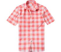Kurzarm-Hemd, Modern Fit, Popeline