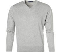 Pullover, Seide-Baumwolle