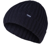 Mütze, Wolle, marine