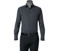 Hemd, Slim Fit, Baumwolle