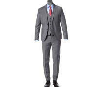 Anzug, Super Slim, Schurwoll-Stretch