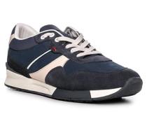 Schuhe Sneaker Edlow, Kalb- und Rindleder
