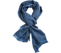 Schal, Baumwolle, gemustert