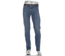 Jeans Pipe, Regular Slim Fit, Baumwoll-Stretch 13,5 oz