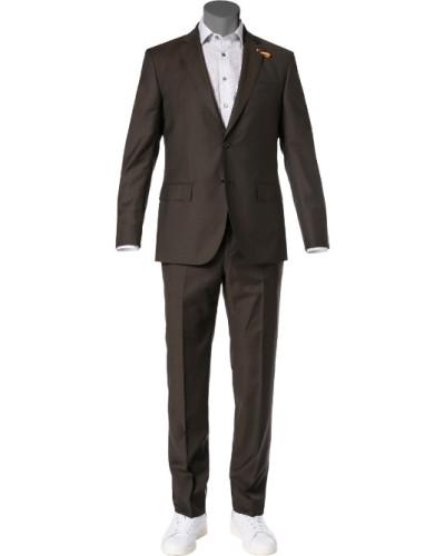 Anzug, Schurwolle Super120, dunkelbraun