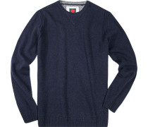 Pullover, Wolle, dunkelblau