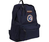 Tasche Rucksack, Microfaser, dunkelblau