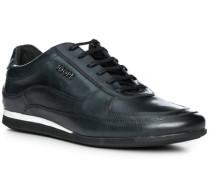 Schuhe Sneaker, Leder, dunkelgrau