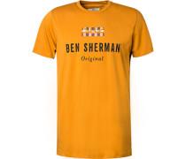 T-Shirt, Baumwolle, messing