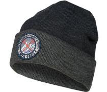 Mütze, Mikrofaser, navy