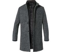 Mantel, Wolle, meliert