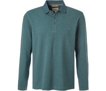 Polo-Shirt Polo, Baumwoll-Piqué, seegrün
