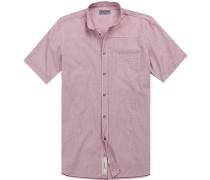 Kurzarm-Hemd, Modern Fit, gestreift