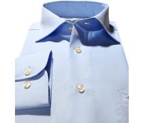 Hemd, Comfort Fit, Popeline, hellblau