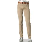 Jeans Cosy Pants Pipe, Regular Slim Fit, Baumwoll-Stretch