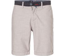 Hose Shorts, Leinen-Baumwolle