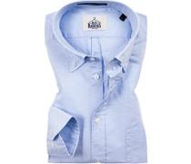 Hemd, Regular Fit, Oxford, bleu