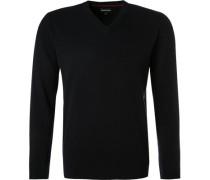 Pullover, Kaschmir-Wolle, navy