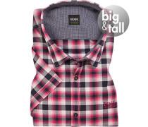 Kurzarm-Hemd, Big&Tall, Popeline