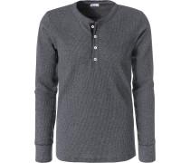 Langarm-Shirt Herren, Baumwolle
