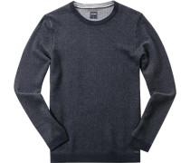 Pullover, Modern Fit, Baumwolle-Wolle