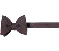 Krawatte Schleife, Wolle, burgund