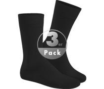Socken Socken, Baumwolle, black