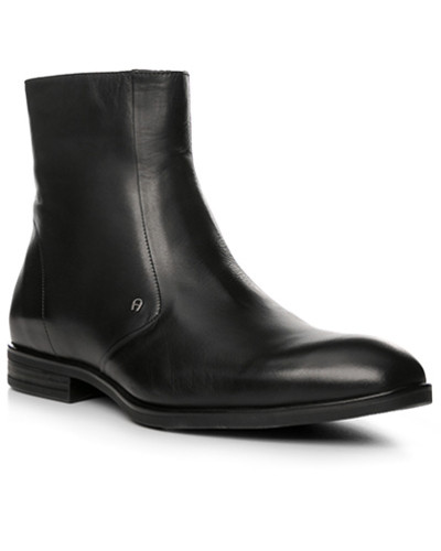 Aigner Herren Schuhe Stiefeletten, Leder