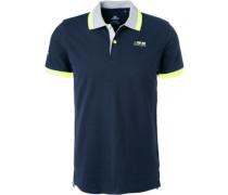 Polo-Shirt Polo, Baumwoll-Piqué navy