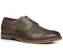 Schuhe Budapester, Büffelleder, fango