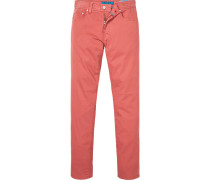 Blue-Jeans, Tapered Fit, Baumwoll-Stretch