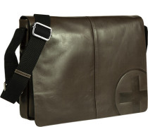 Tasche  , Messenger Bag, Leder