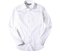 Ober-Hemd, Slim Fit, Baumwolle