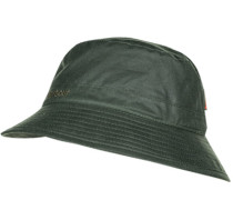 Hut, Baumwolle gewachst, dunkelgrün