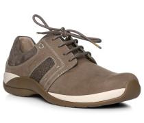 Schuhe Sneaker, Nubukleder