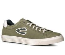 Schuhe Sneaker, Nubukleder, lindgrün